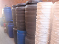 50 Gal 3 ring Water Tight Shipping/Food Barrels - $ 25.00 each