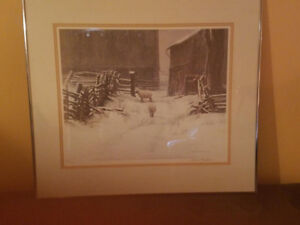 2 Prints for sale Robert Bateman and Jean Luc Grondin