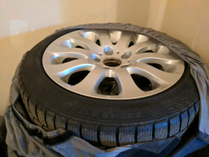 Winter tires for a bmw 335