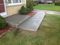 Concrete Shed pads & hot-tub pads