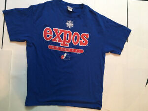 MLB Montreal Expos T-Shirt Baseball (XL) Authentic Jersey