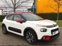 2017/ 17 CITROEN C3,1.6 BLUE HDI 100 FEEL 5 Door [ Low Mileage Only 586 ] 100%