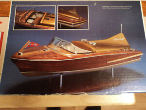 Dumas Chris Craft Cobra Model Boat Kit