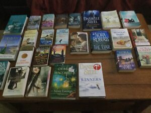 36 new books. Read once. Hardcover and soft.