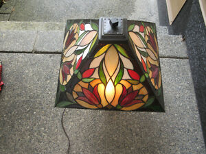 $100 Lamp approx 25 inches high by 16 inches wide