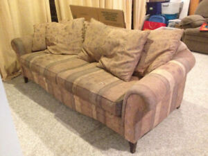 High end couch for free!