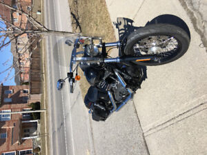 Dyna quick release windshield