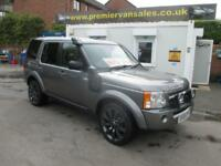 2009 09 LAND ROVER DISCOVERY 2.7 TD. 188 BHP, AUTO, FULL LEATHER, FULL HISTORY,