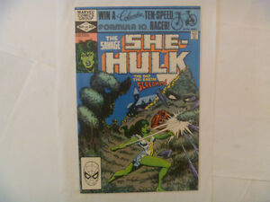 THE HULK and The She-Hulk Comics by Marvel