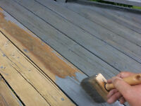 Have your deck ready for the coming season 519-496-2805