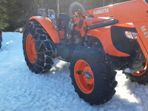 2014 kubota m108 GREAT CONDITION LOW HOURS