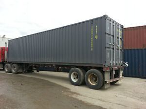 Used Shipping Containers - Conteneurs Maritimes Usager