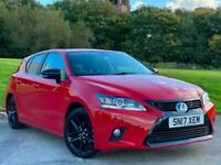 2017 17 Lexus CT 200h 1.8 ( 136bhp ) E-CVT Sport for sale in AYRSHIRE