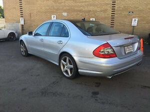 2008 MERCEDES-BENZ E550 4MATIC AMG PACKAGE