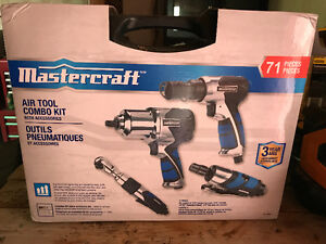 Air Power tools 71 piece set , brand new never opened