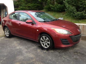 2010 Mazda3 Sedan Manual Transmissio (Inspection Slip Available)