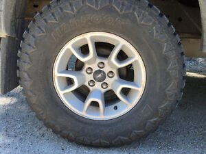 2009 ford ranger tires and rims