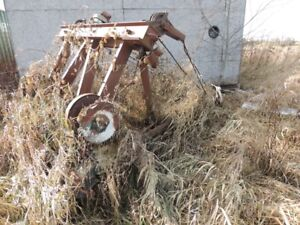 35  year collection of antique tow truck cranes and bodies