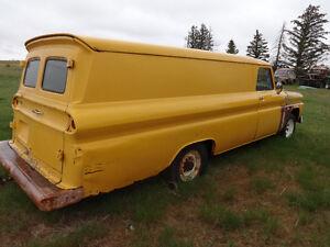 1964 chevy panel truck suburban wagon