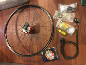 "26"" Bicycle Wheel with Rohloff Speedhub - $1000"