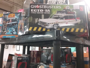Ghostbusters, pop's,  barbie, marvel plus 1000 booths to explore