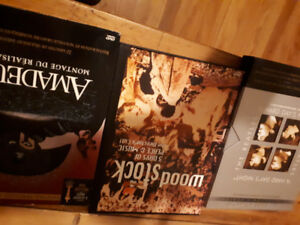 dvds de musique : Pink Floyd - The Wall , Amadeus , The U.S. vs