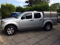 Nissan navara 2007 2.5td DCI crew cab pick up MAY SWAP PART EX LANDROVER DEFENDER OR SERIES!