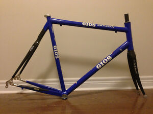 CUSTOM GIOS V107 FRAMESET WITH DEDA CARBON FORK
