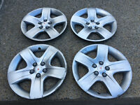 4 ORIGINAL 17'' PONTIAC WHEEL CAPS / CAPS DE ROUES