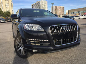 2011 Audi Q7 3.0 Supercharged V6 No accidents 7 Passenger