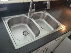 Double Stainless Sink by Blanco