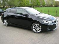 2013 13 REG Lexus CT 200h 1.8 ( 134bhp ) CVT Luxury
