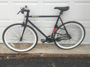 Pure Fix Original Fixed Gear Single Speed Bicycle 58cm