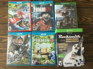 Wii U and Xbox One Games
