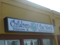 Children of the World Daycare -12 months to 6 years old children