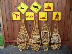 Snow Shoes and Signs