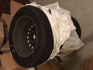 Tires with rims Firestone (set of 4) - Model P225/60R17 98H M+S