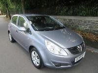 2009 '59' VAUXHALL CORSA 1.3 CDTi ACTIVE 5 DR HATCH ONLY 52,000 F,S,H, ONE OWNER