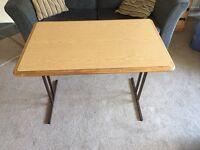 Freestanding caravan table