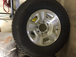 Factory Chev 3/4 ton diesel rims and tires