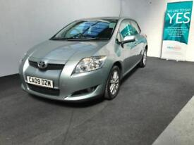 Toyota Auris 1.4D-4D TR lovely low miles example finance from £20 per week