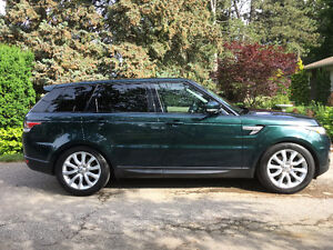 2014 Land Rover Range Rover Sport HSE SUV, Crossover