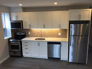 NEWLY RENOVATED Beaches apartment at Queen & Woodbine