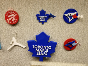 Sports teams keychains, name tags, custom 3D printed items
