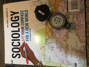 UNIVERSITY OF WINDSOR SOCIOLOGY TEXT BOOK FOR SALE !!
