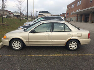 2000 Mazda Protege with Snow Tires FOR SALE!