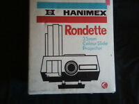 Hanimex Rondette 35mm Colour Slide Projector