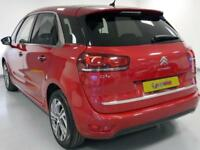 2014 Citroen C4 Picasso 1.6 e-HDi 115 Airdream Exclusive+ 5dr Diesel red Manual