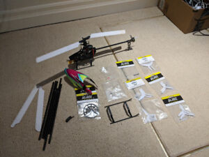 RC Heli / Helicopter Blade 230s w/ parts