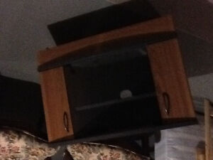 2 tv consoles for sale